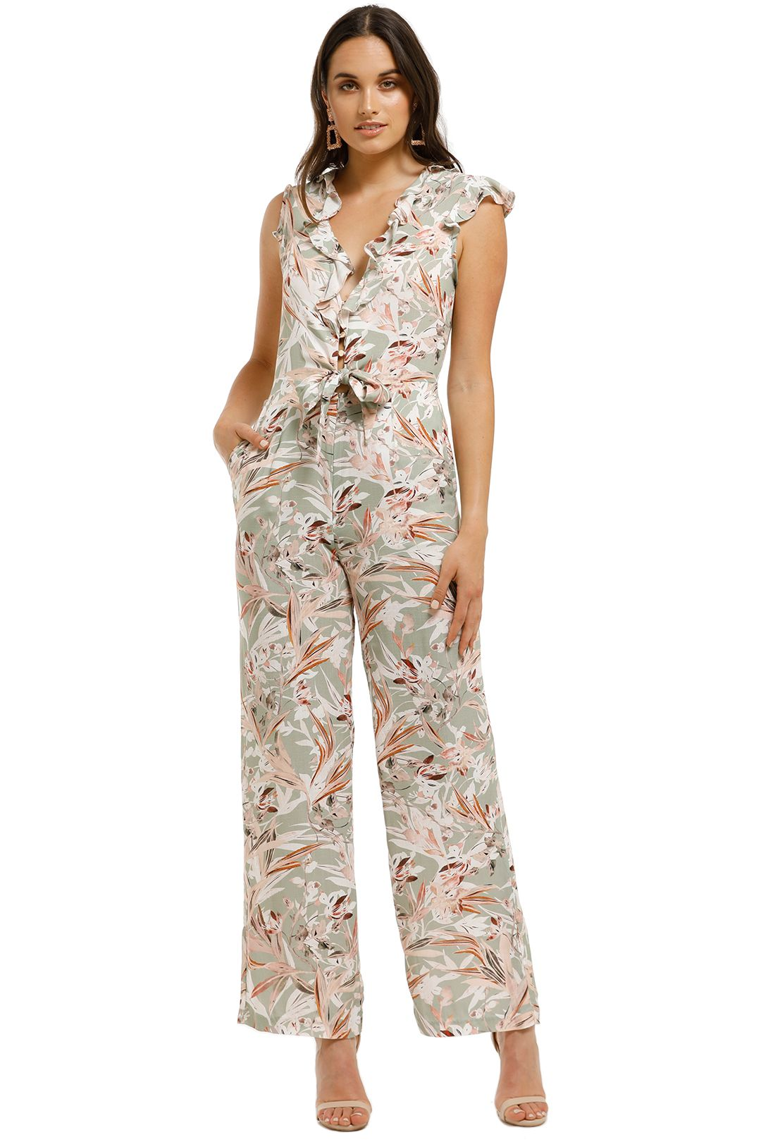 Wish-Palm-Springs-Jumpsuit-Sage-Front