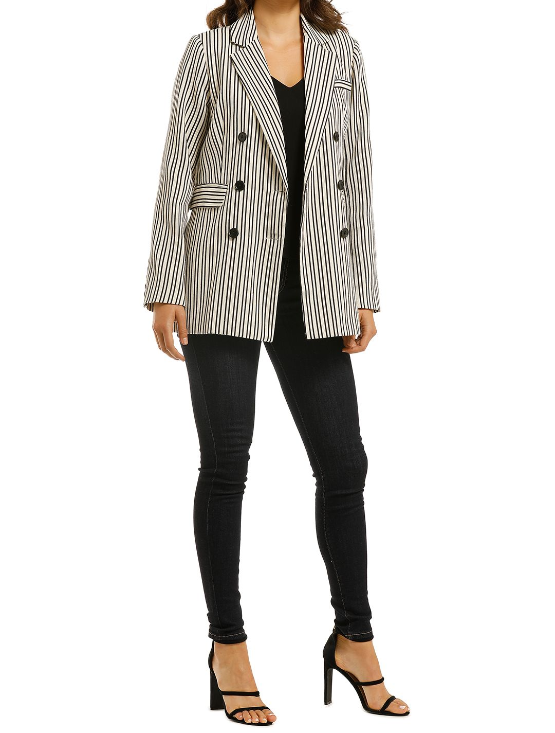 Wish-Straight-Line-Blazer-Stripe-Side