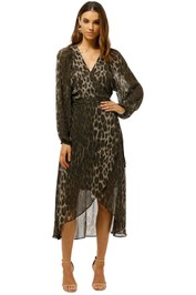 Witchery-Balloon-Sleeve-Dress-Leopard-Front