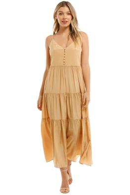 Witchery-Tiered-Button-Front-Dress-Sesame-Front