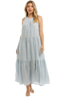 Witchery-Yoke-Tiered-Dress-Arctic-Blue-Front