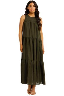 Witchery-Yoke-Tiered-Dress-Fern-Front
