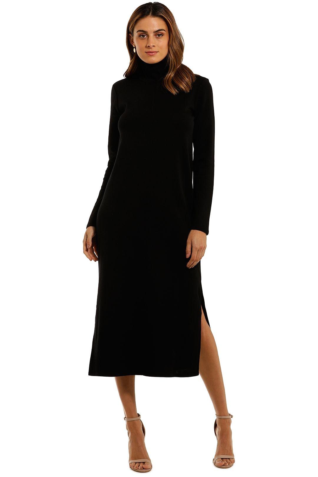 Witchery Seam Jersey Dress high neck
