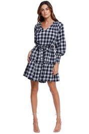 Witchery Tiered Check Dress Mini