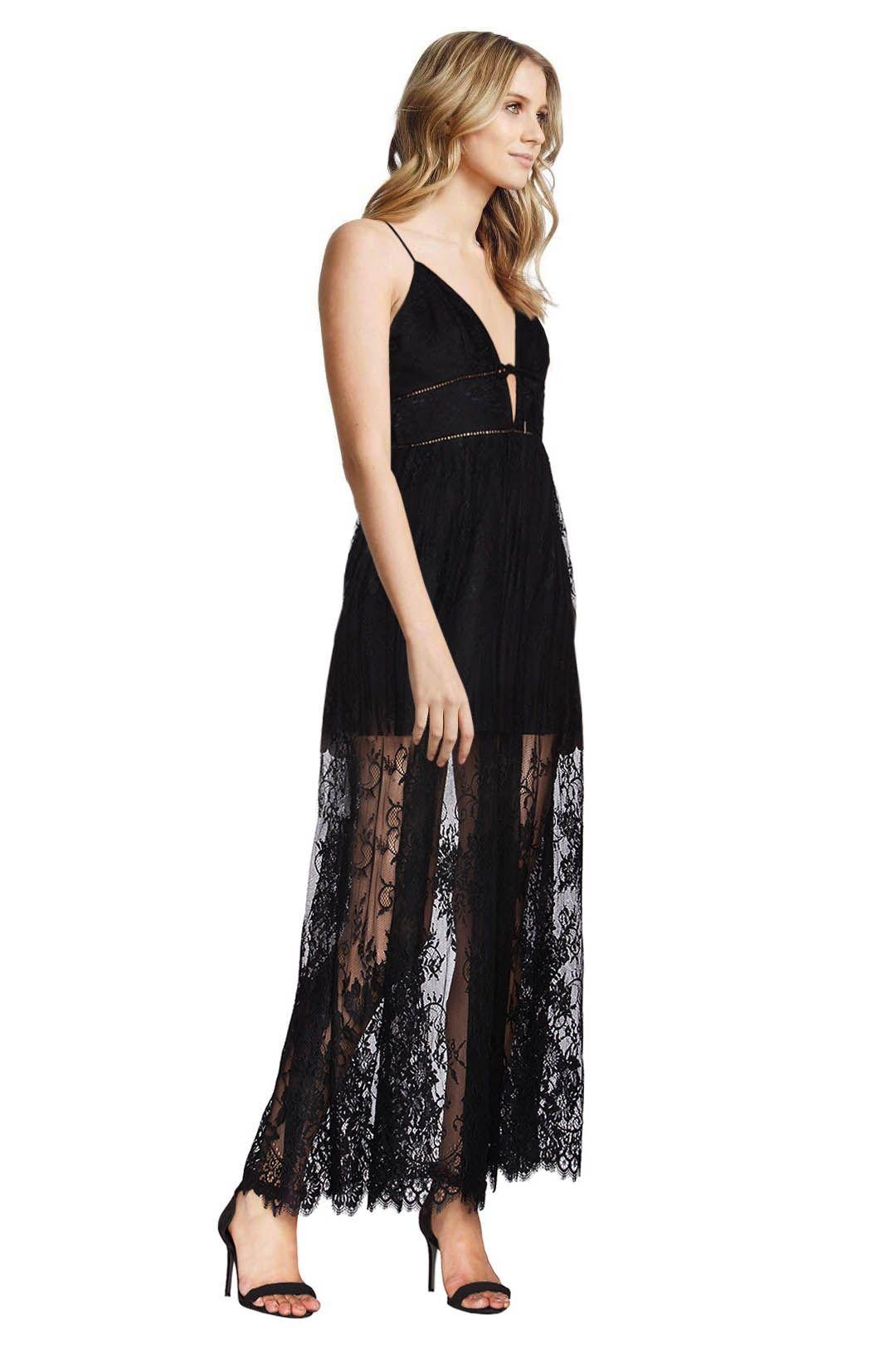 X by NBD - Stella Dress - Black - Side