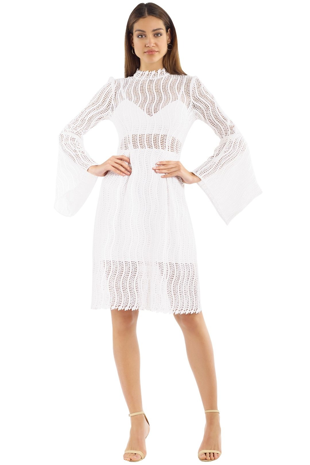 Yeojin Bae - Caterina Dress - Cream - Front
