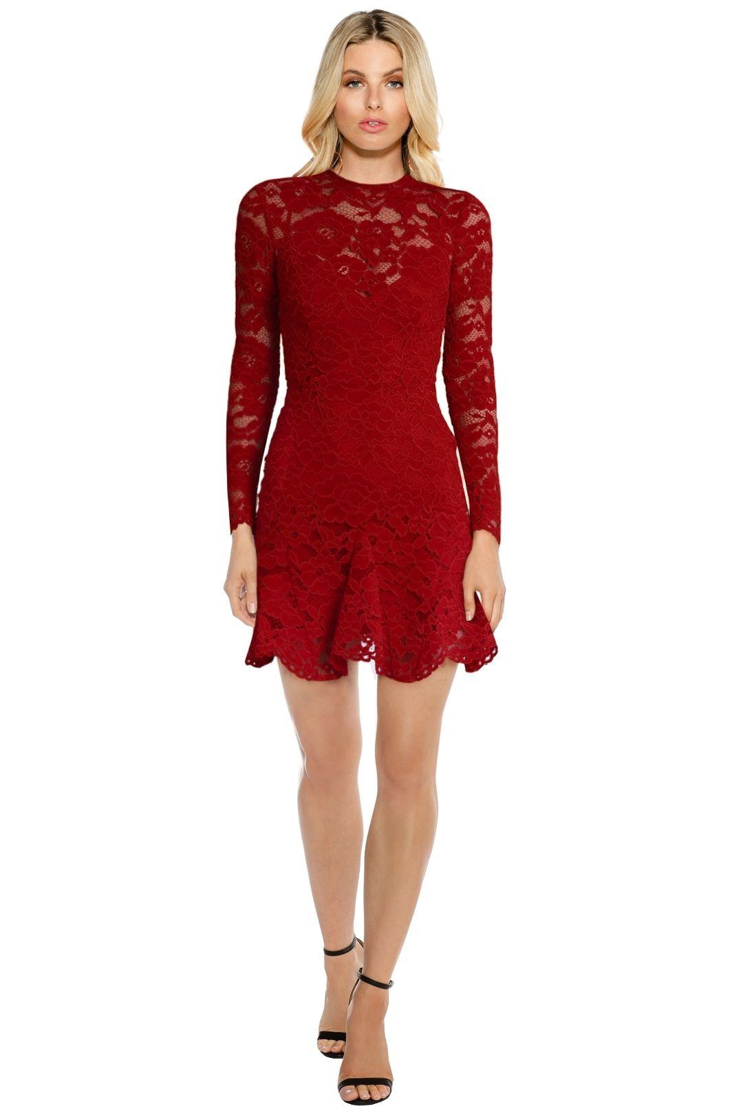 Yeojin Bae - Cornelli Lace Sofia - Red - Front