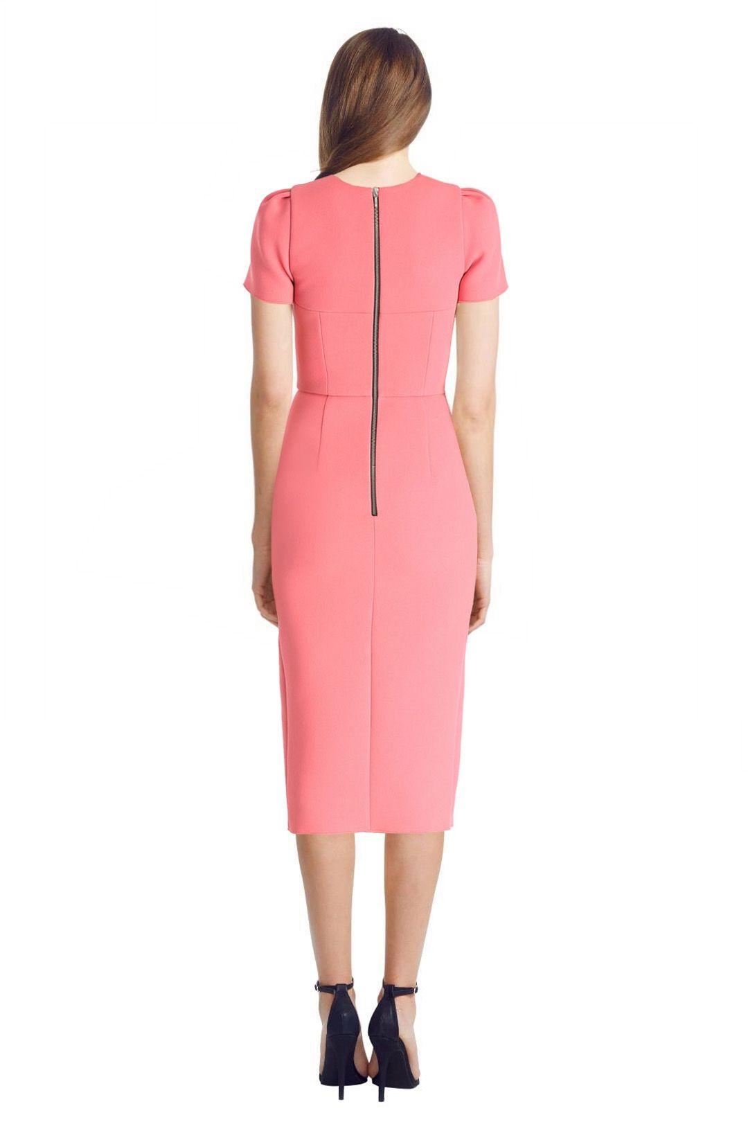 Yeojin Bae - Double Crepe Amelia Dress - Pink - Back