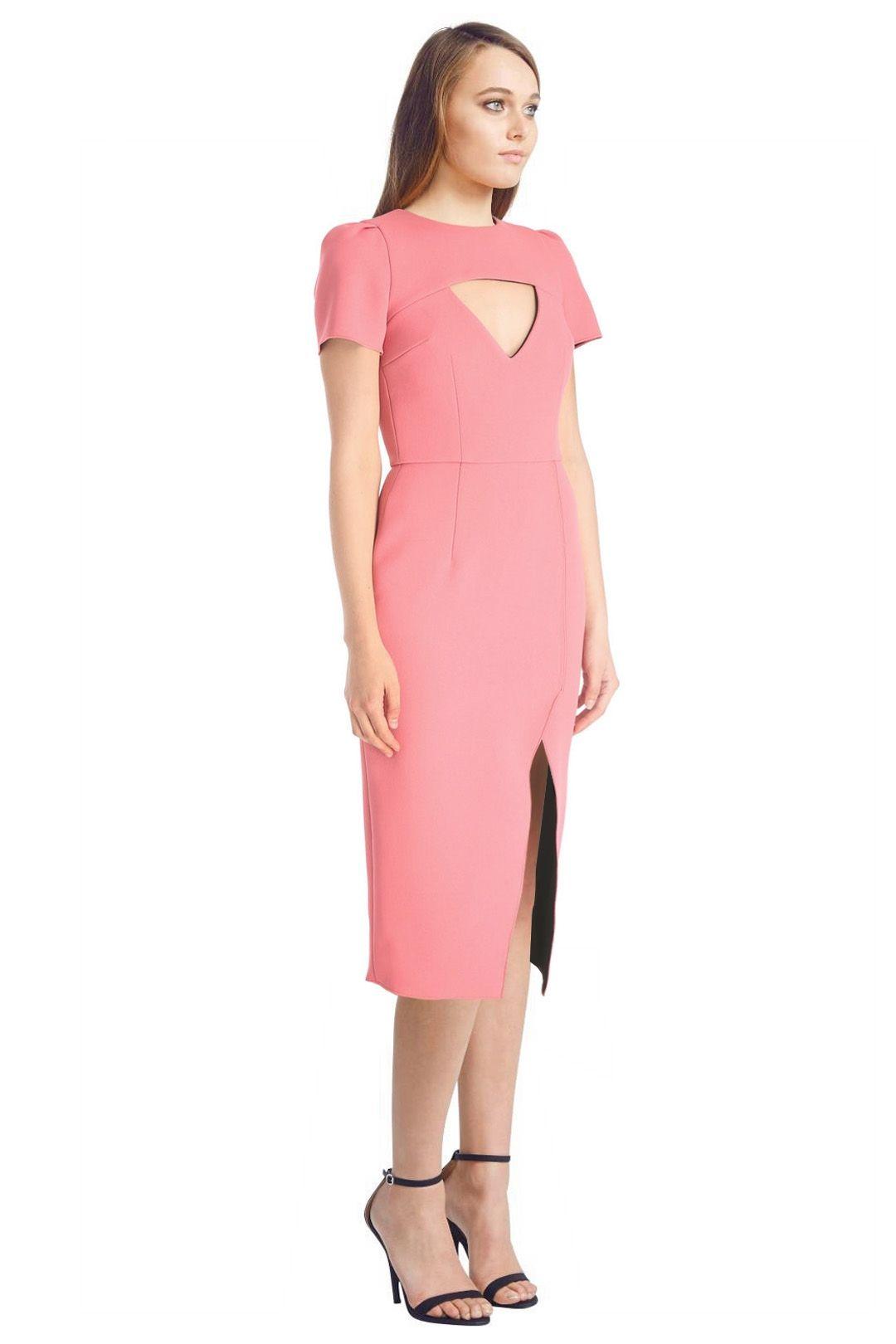 Yeojin Bae - Double Crepe Amelia Dress - Pink - Side