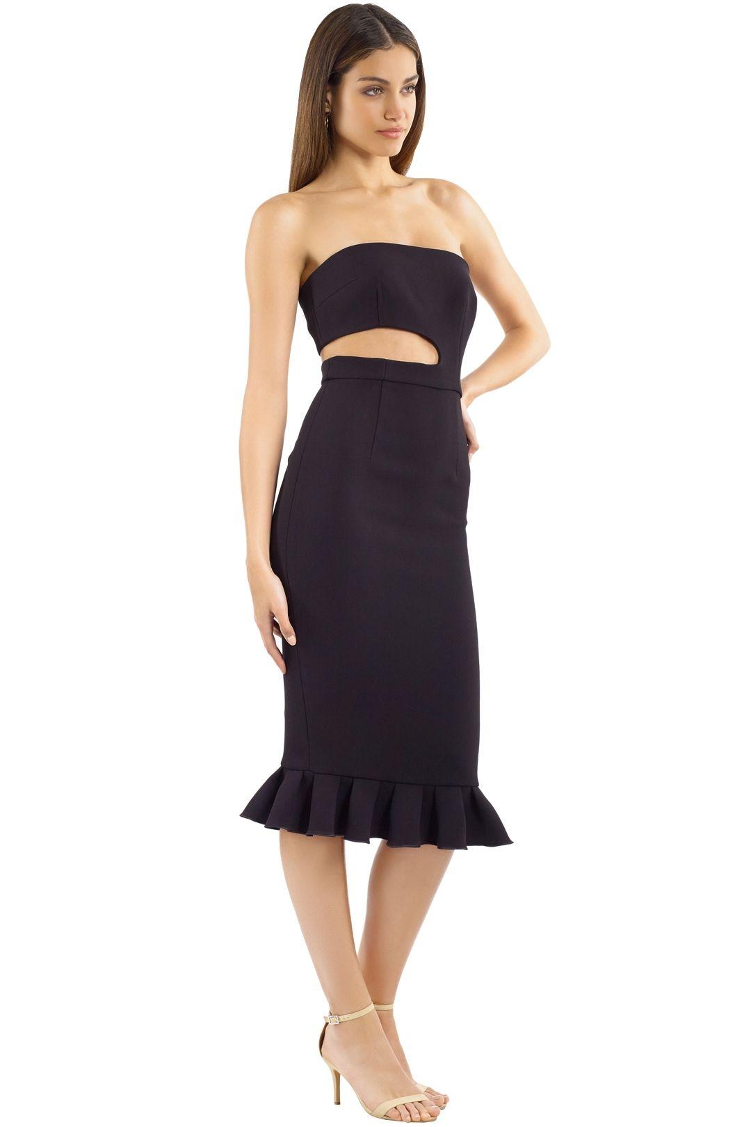 Yeojin Bae - Kaitlin Dress - Black -  Side