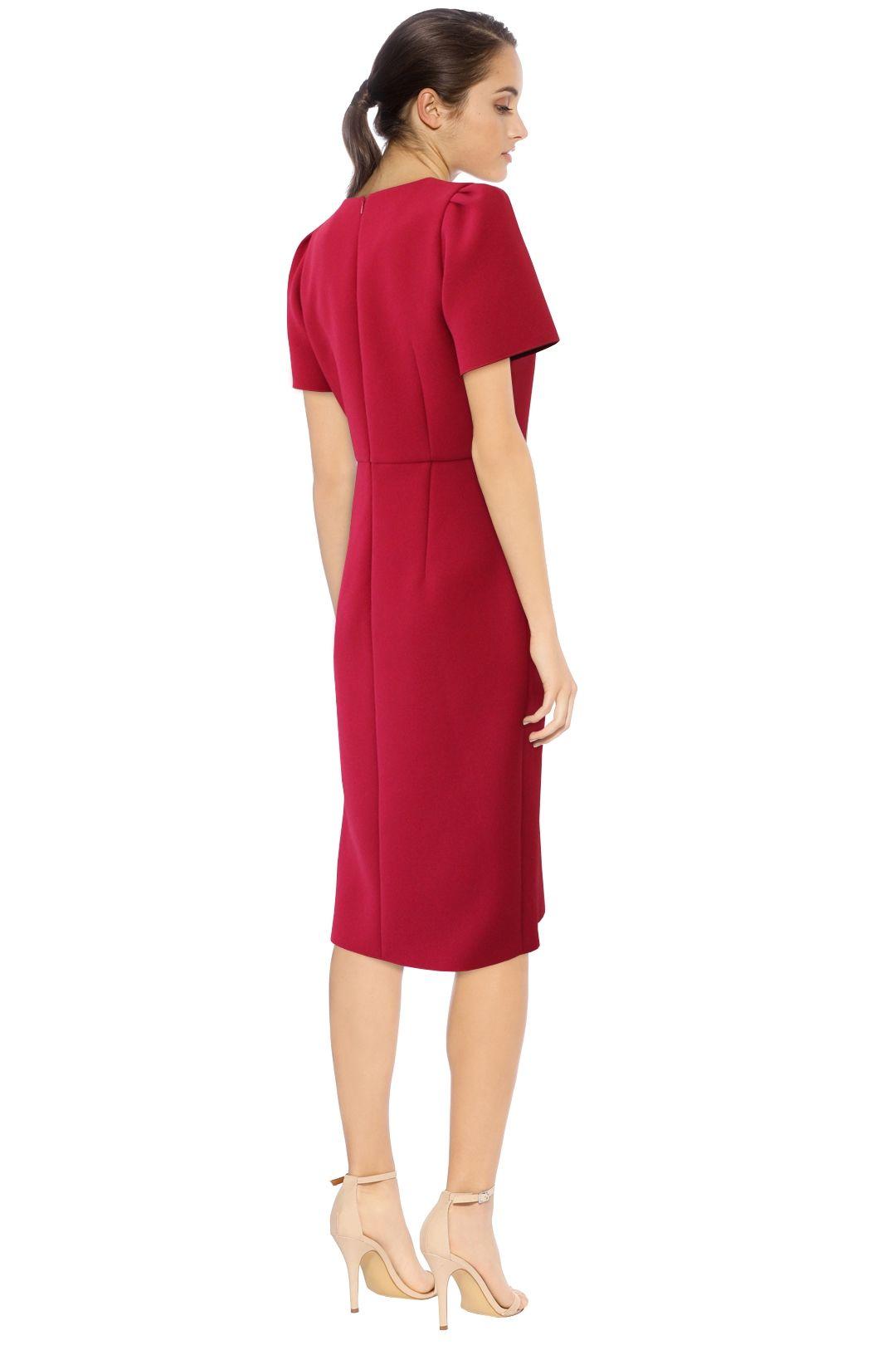 Yeojin Bae - Kristy Dress -Fushcia - Back