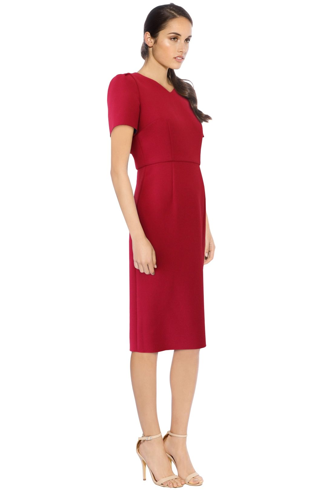Yeojin Bae - Kristy Dress -Fushcia - Side