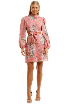 Zimmermann-Bellitude-Bow-Front-Dress-Front
