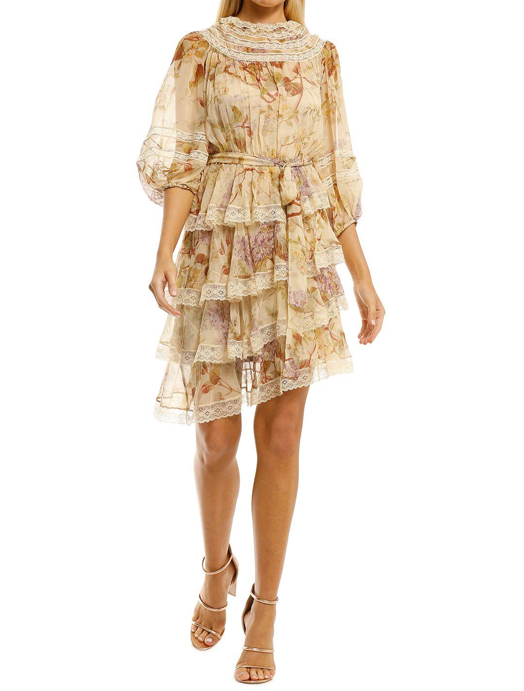 Zimmermann-Sabotage-Tiered-Lace-Mini-Dress-Cream-Wisteria-Front