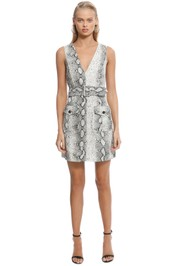 Zimmermann - Corsage Safari Dress - Print - Front