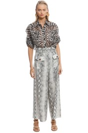 Zimmermann - Corsage Safari Shirt - Front