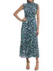 Zimmermann - Moncur Frill Dress - Blue - Front