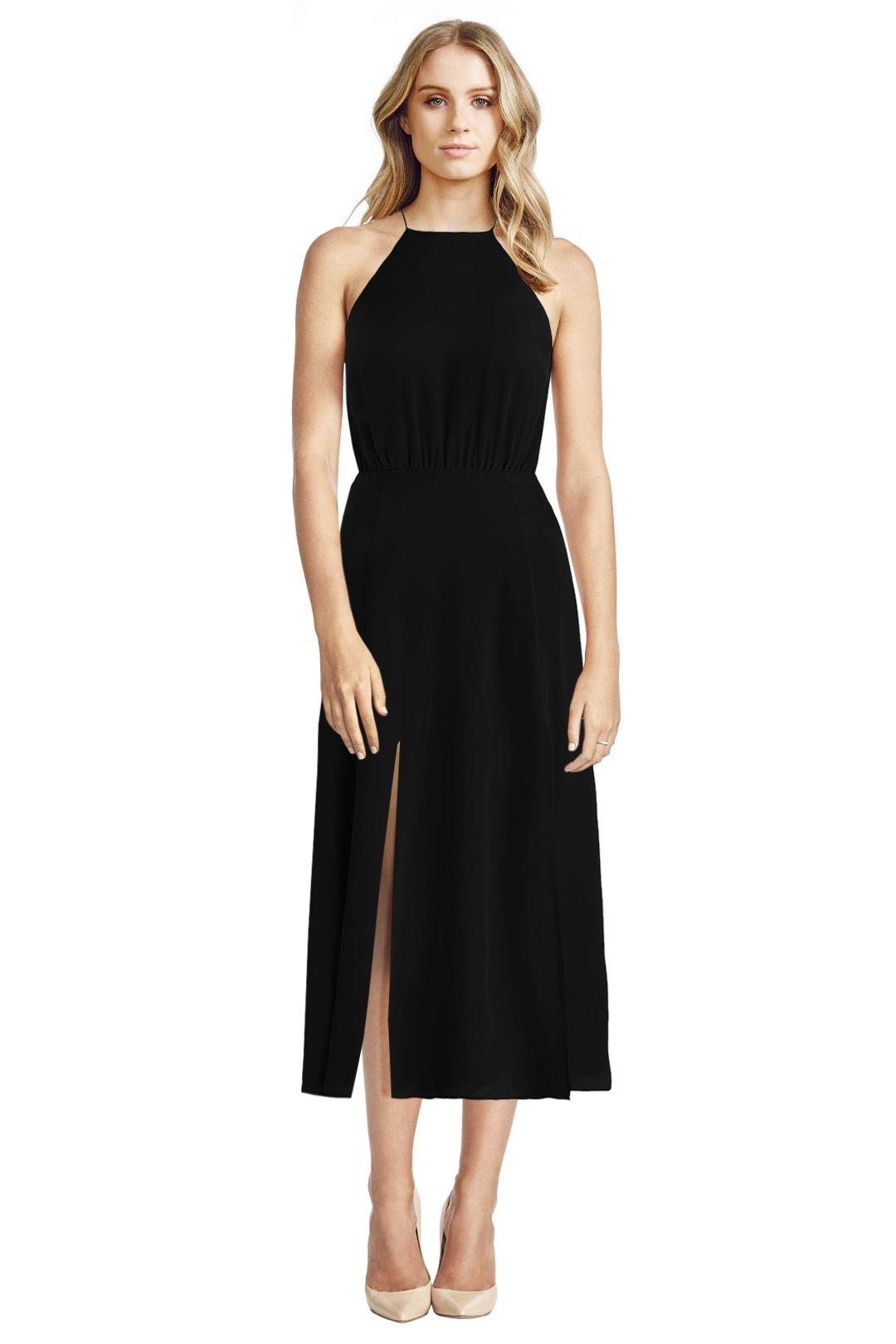 Zimmermann - Silk Picnic Dress - Black - Front