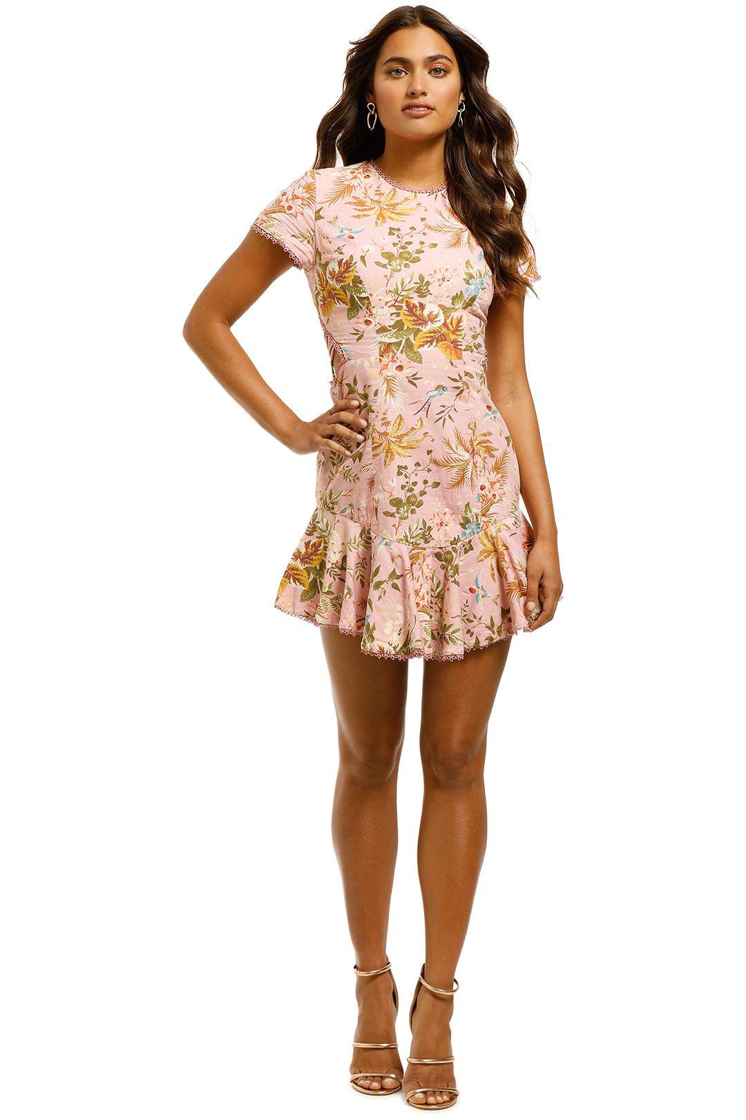 Zimmermann - Tropicale Lattice Dress - Front
