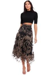 Zimmermann Ladybeetle Fortune Tulle Skirt