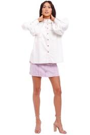 Zimmermann Pocket Denim Long Sleeved Shirt