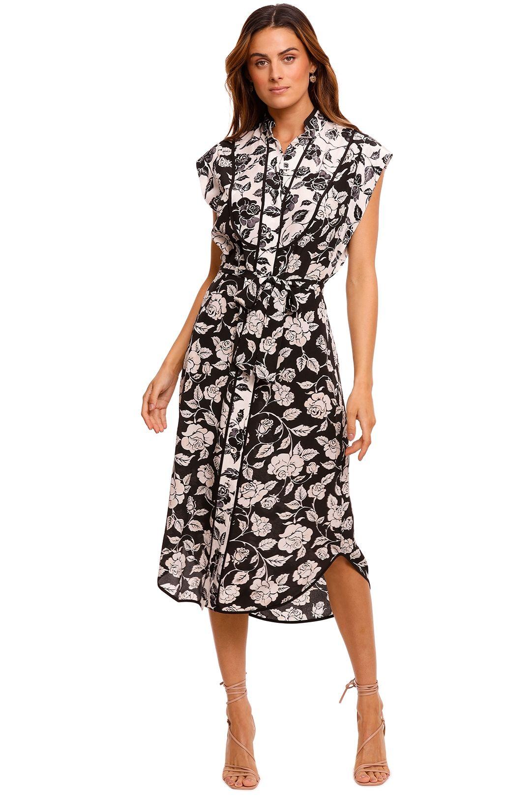 Zimmermann Silk Piped Dress