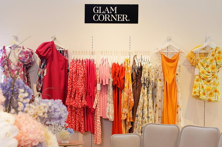 GlamCorner popup store in David Jones