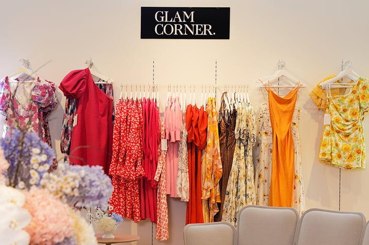 GlamCorner popup store in David Jones