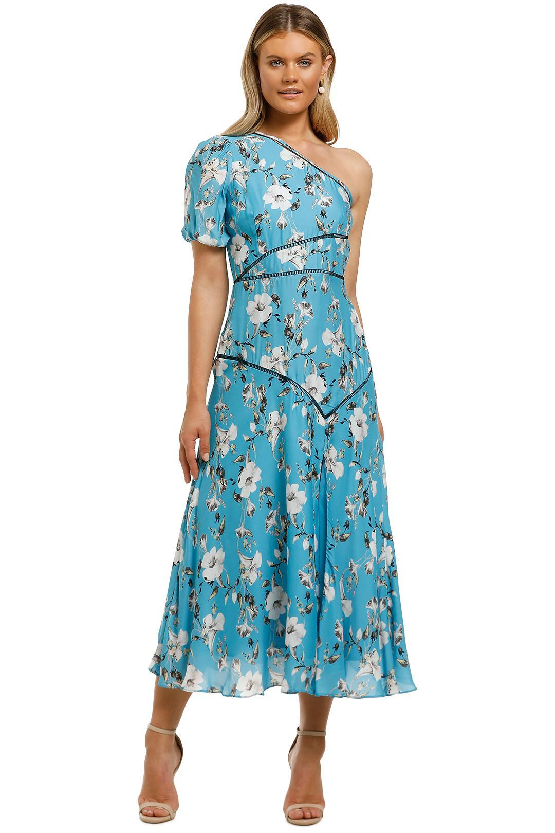 Talulah - Cannes Midi Dress - Blue Valentine Floral