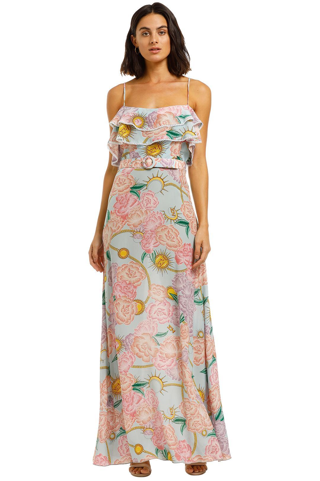 Hayley Menzies - Maxi Frill Dress - Floral Print