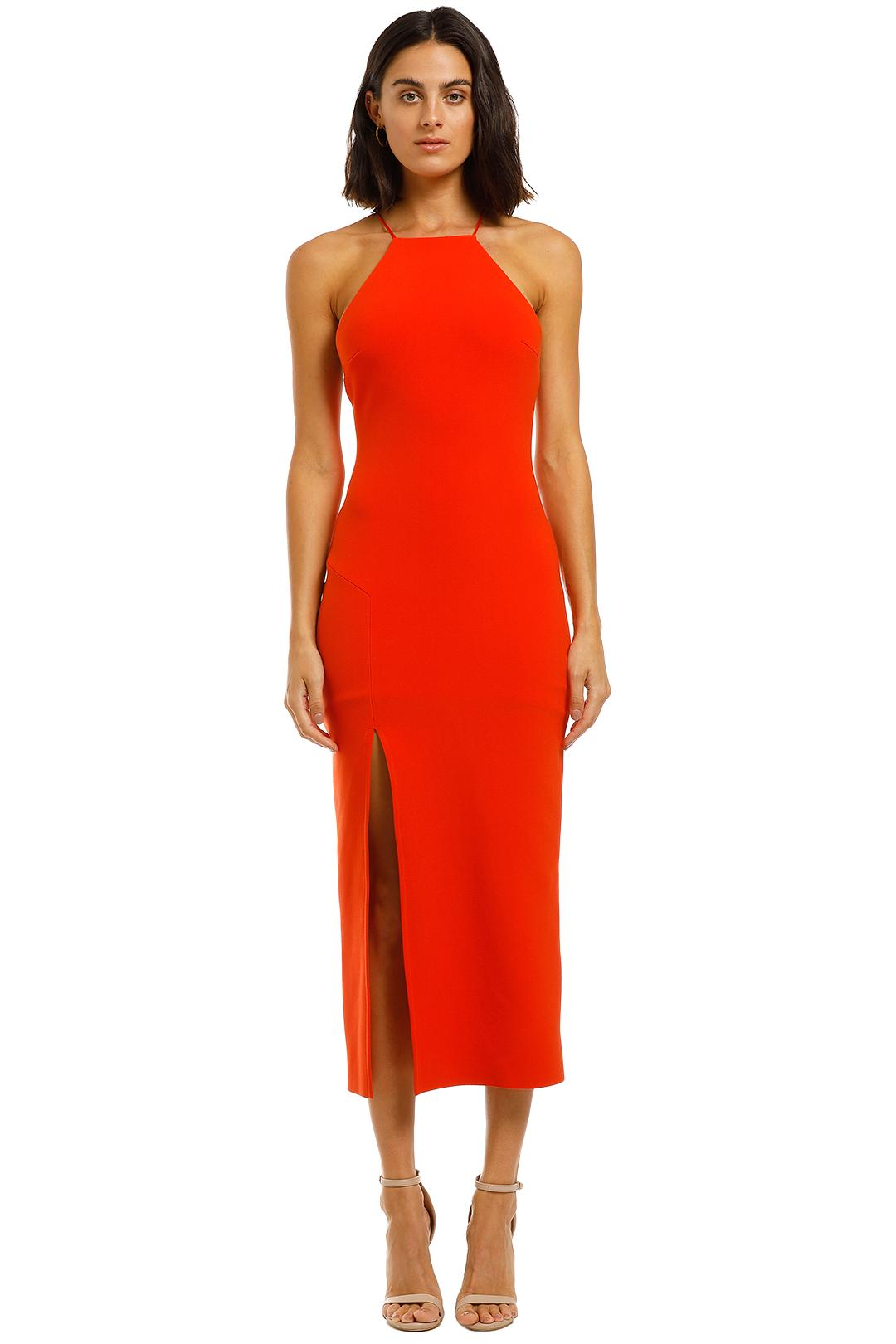 BEC + BRIDGE - Candy Midi Dress - Chilli