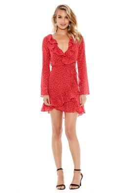 Realisation Par - Diane Dress - Red Star - Front