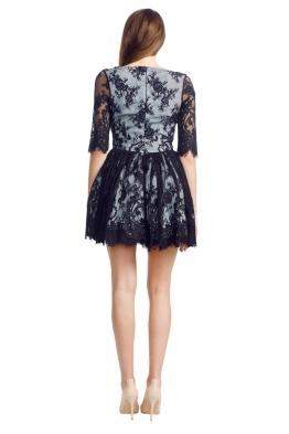 Wheels and Dollbaby - Picnic Dress - Front - Black