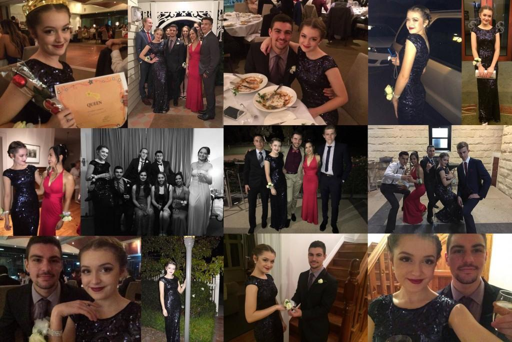 Year 12 Formal collage