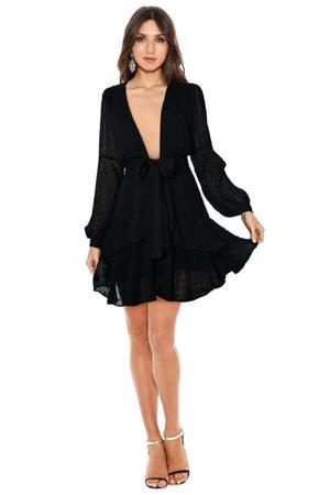 for love and lemons tarta mini dress wardrobe staples little black dress