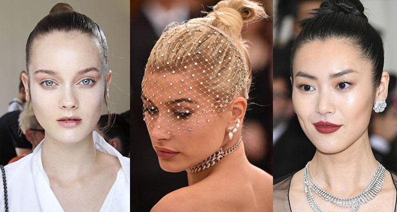 Polished updo hair styles