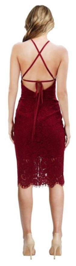 lover ruby oasis dress