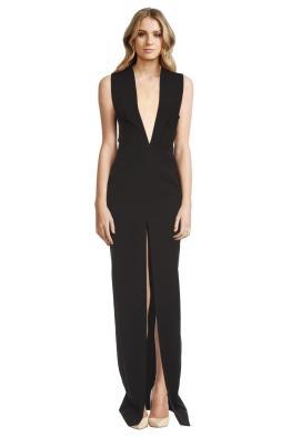 Solace London - Cassi Crepe Dress - Front
