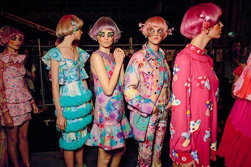 Romance Was Born 'Magic Mushroom' Fashion Week
