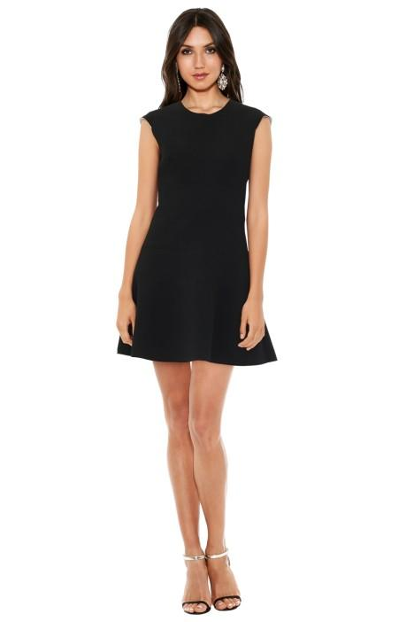 Sandro Remind Dress - Black - Little Black Dress