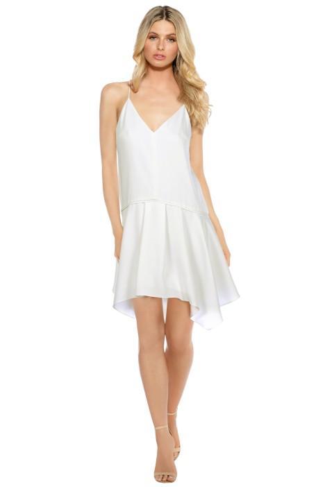 Camilla and Marc Ripolin Dress in White - Trans-seasonal dressing