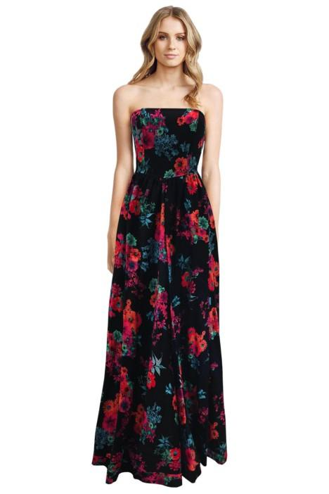 Bronx and Banco - Floral Prints Dress - Front