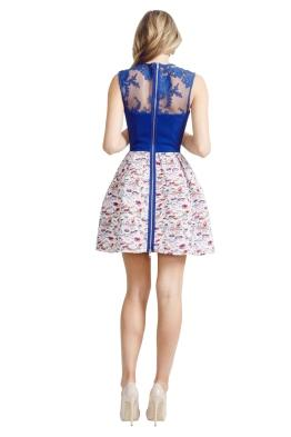 Alex Perry - Amalfi Dress - Front - Blue