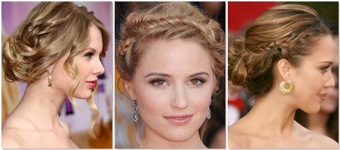 updo hairstyle black tie event