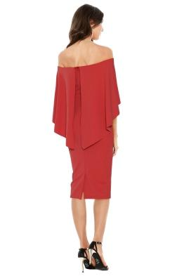 Pasduchas - Composure Midi Dress - Tuscan Rose - Front