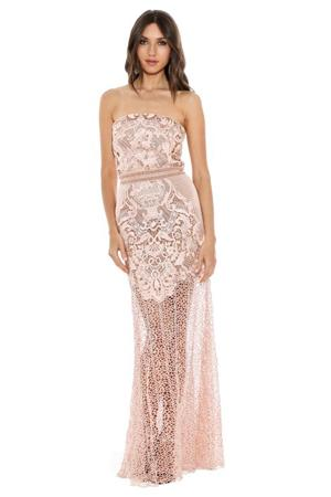 grace and hart adele gown in blush wedding dress bridal looks for fall