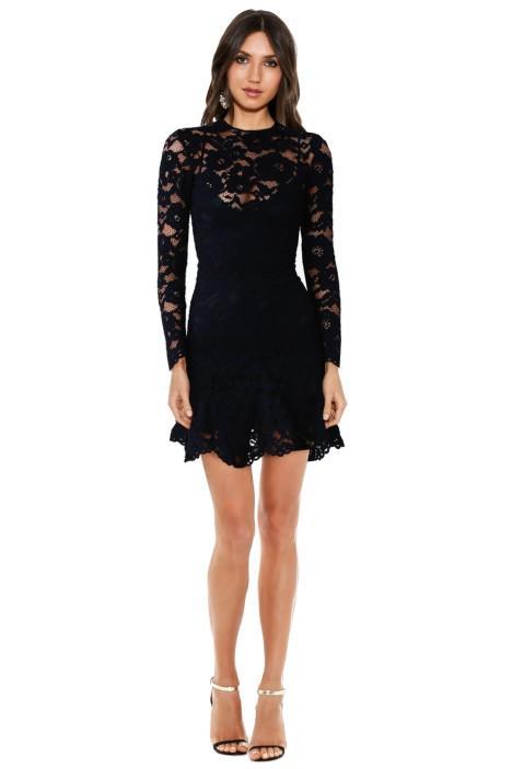 Yeojin Bae Cornelli Lace Sofia Dress in Black