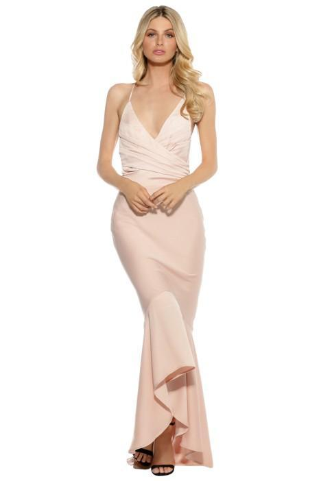 Grace & Hart Juliets Delight Gown Blush Bridesmaid Styling