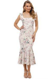 pasduchas-bowie-midi-dress-floral-ivory-front