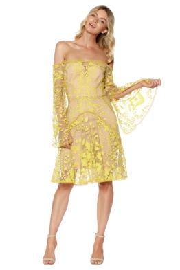 Thurley - Marigold Mini Dress - Front